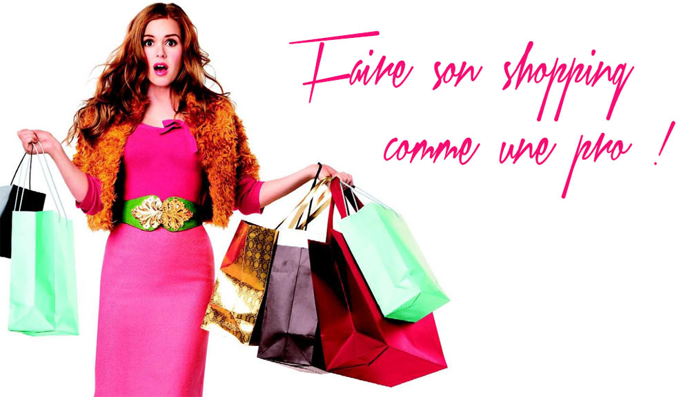 Comment faire son shopping comme une pro maquillage cynthia for How to be a professional shopper