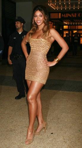 Jambes de Beyonce