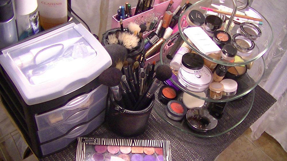 Id Es De Rangement Maquillage Maquillage Cynthia