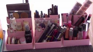 Id es de rangement maquillage maquillage cynthia - Rangement palette maquillage ...