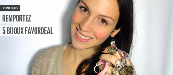 Concours Bijoux Favordeal Maquillage Cynthia