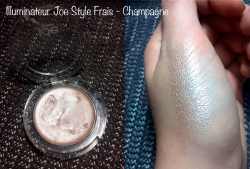 Illuminateur champagne de Joe Style Frais