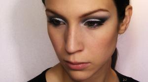 Maquillage pailleté Cynthia