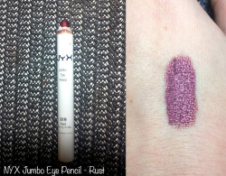 Crayon Jumbo Eye Pencil en 619 Rust de NYX