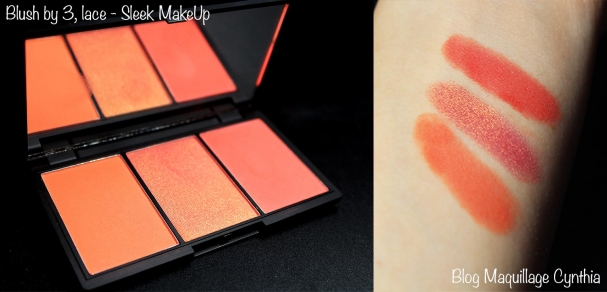 Blush by 3 lace Sleek MakeUp