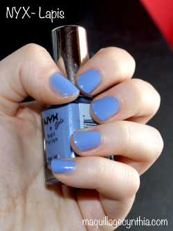 vernis NYX Girls Lapis