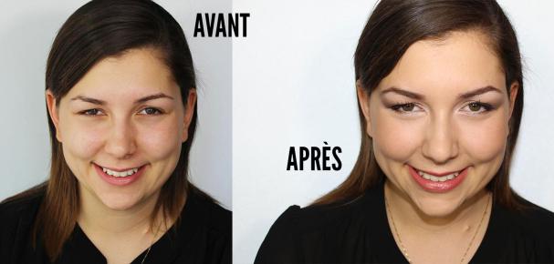 maquillage paupières tombantes résultat