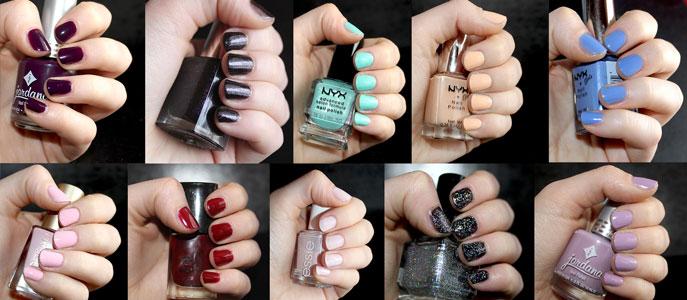 Mes 10 vernis à ongles préférés Cynthia Dulude