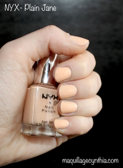 Vernis NYX Girls Plain Jane
