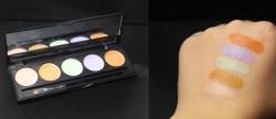 Palette correctrice 5 couleurs PB Cosmetics