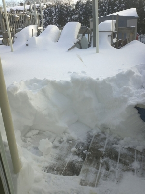 Tempête de neige 2012 Québec