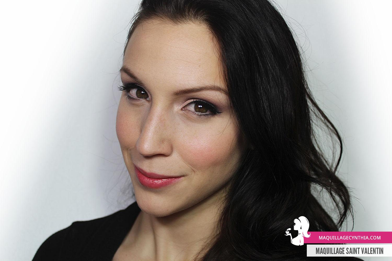 Maquillage pour la Saint Valentin  Maquillage Cynthia