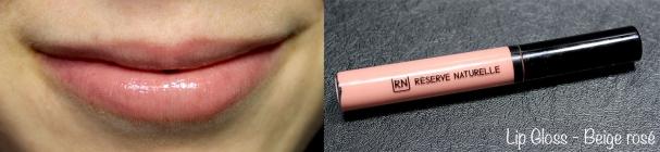 Lip Gloss #34 Beige rosé Réserve Naturelle