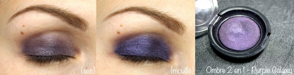 Ombre 2 en 1 #11 Purple Galaxy - Réserve Naturelle