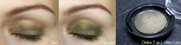 Ombre 2 en 1 #13 Military Gold - Réserve Naturelle