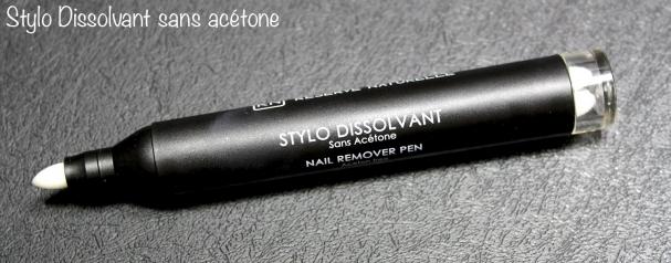 Stylo Dissolvant sans acétone Réserve Naturelle