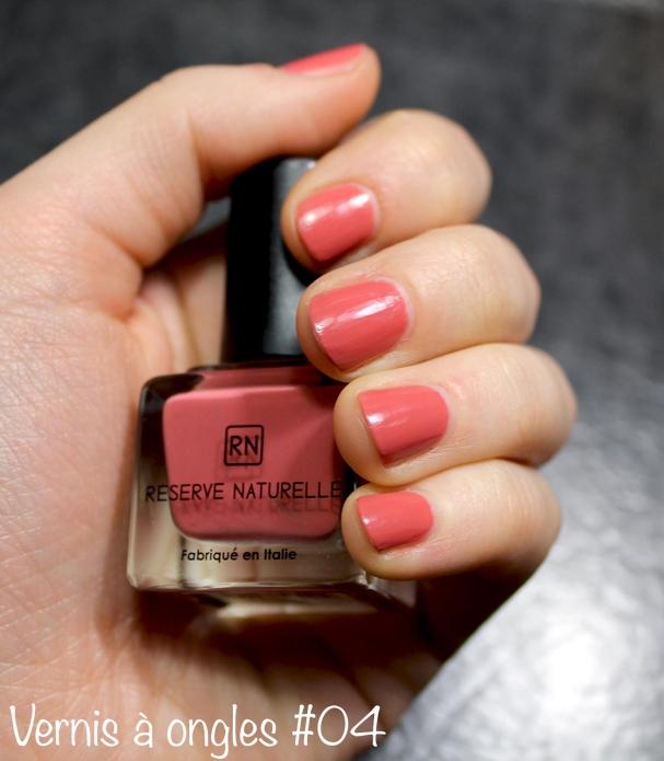 Vernis à ongles #04 Beige rosé chic Réserve Naturelle