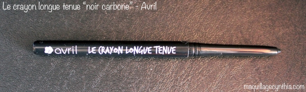 Crayon longue-tenue noir carbone Avril