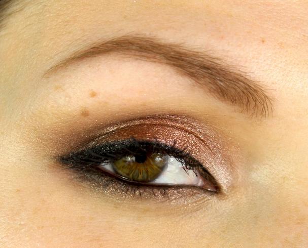 Oeil maquillage de fête Cynthia Dulude