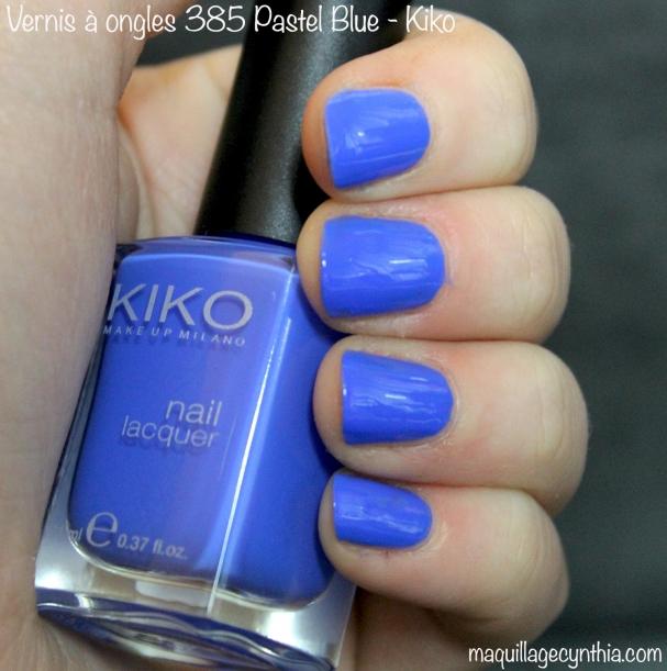 Vernis à ongles 385 pastel blue Kiko