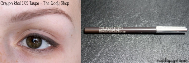 Crayon khol taupe The Body Shop