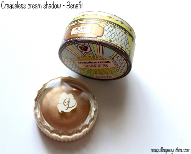 Creaseless Cream Shadow Benefit