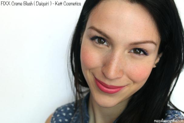 Fixx Creme Blush Kett Cosmetics - Cynthia Dulude