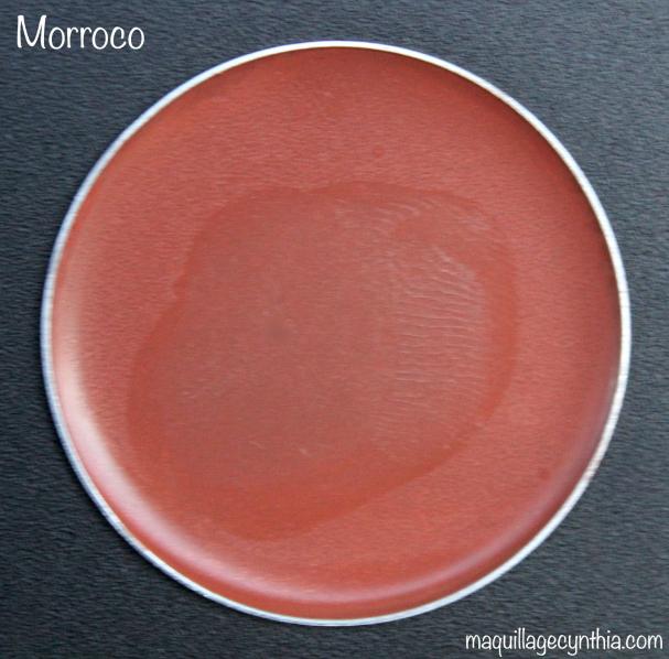 Morroco est un brun foncé chaud