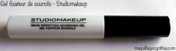 Gel fixateur sourcils StudioMakeup
