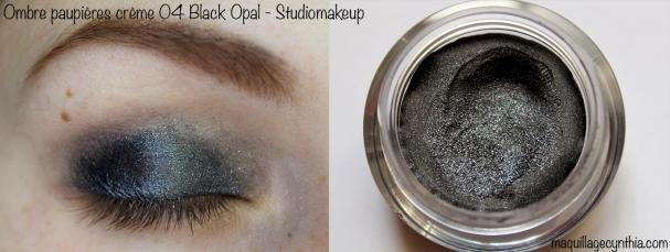 Ombre à paupières 04 Black Opal StudioMakeup