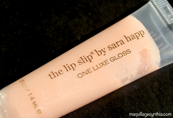 Sara Happ - The Lip Slip one luxe gloss