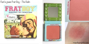 Fard à joues Frat Boy The Balm