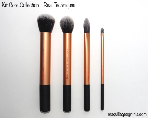 Kit de pinceaux Core Collection Real Techniques