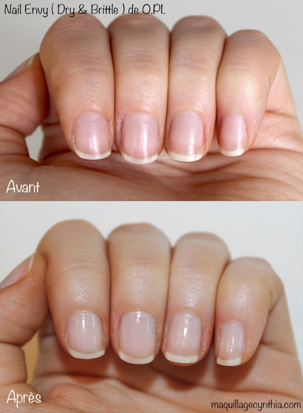 Durcisseur d'ongle Nail Envy O.P.I. Swatch