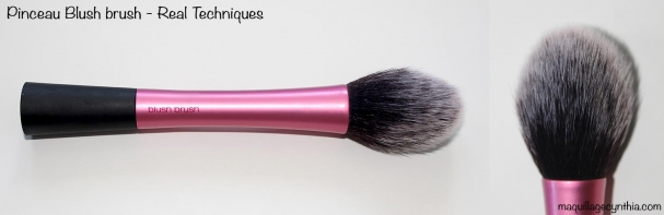 Pinceau gard à joue blush brush Real Techniques