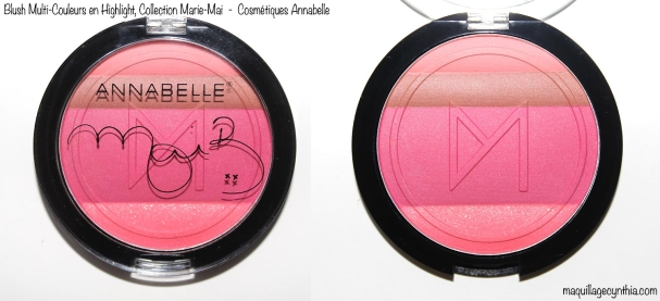 Blush Multi-Couleurs Annabelle Marie-Mai