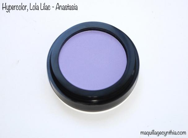 Poudre Hypercolor Anastasia lilac