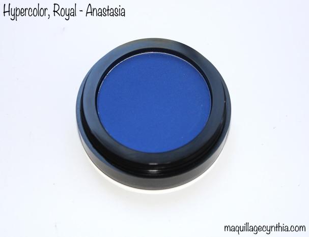 Poudre Hypercolor Anastasia bleue