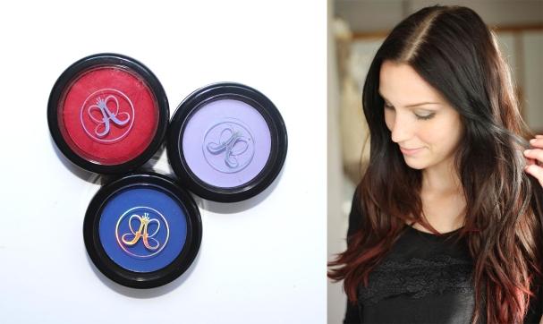 J'ai testé : Les poudres sourcils & cheveux Hypercolor d'Anastasia