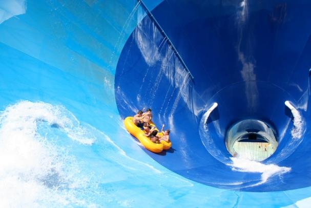 Glissades d'eau Super Aqua Club