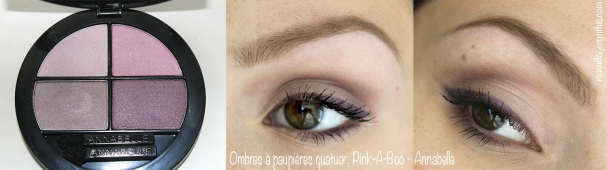 Quatuor Pink-A-Boo + Crayon rétractable Twilighting