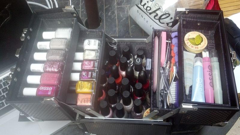 id es de rangement vernis ongles ma collection maquillage cynthia