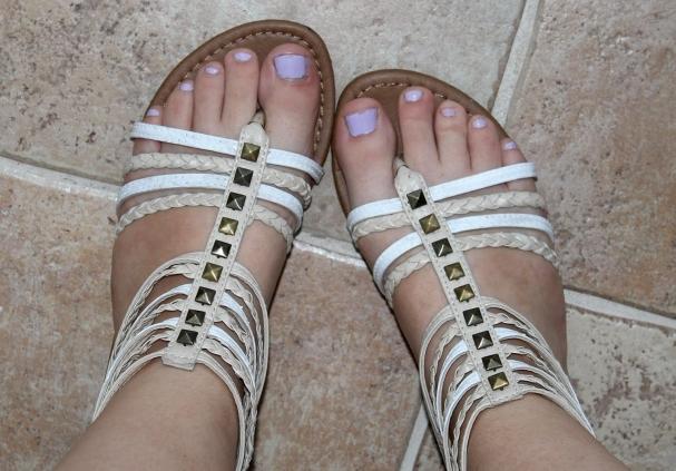 Chaussures au goût du jour DIY