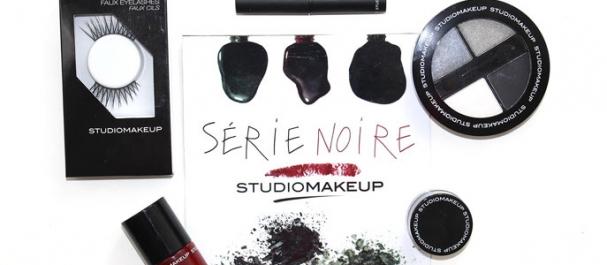 Collection Série Noire de Studiomakeup