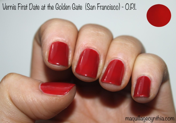 Vernis à ongles First Date at the Golden Gate