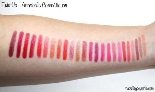 Swatches Annabelle