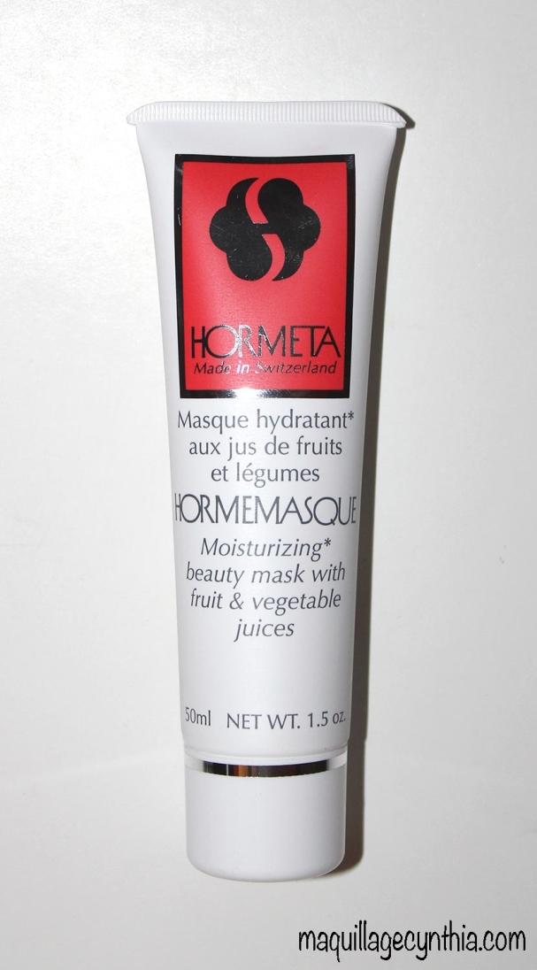 Masque Hormemasque hydratant au jus de fruits et légumes