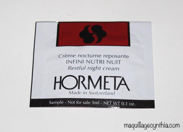 Crème nocturne reposante Infini Nutri Nuit