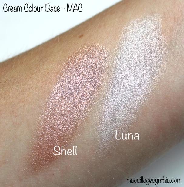 Cream colour base luna shell MAC