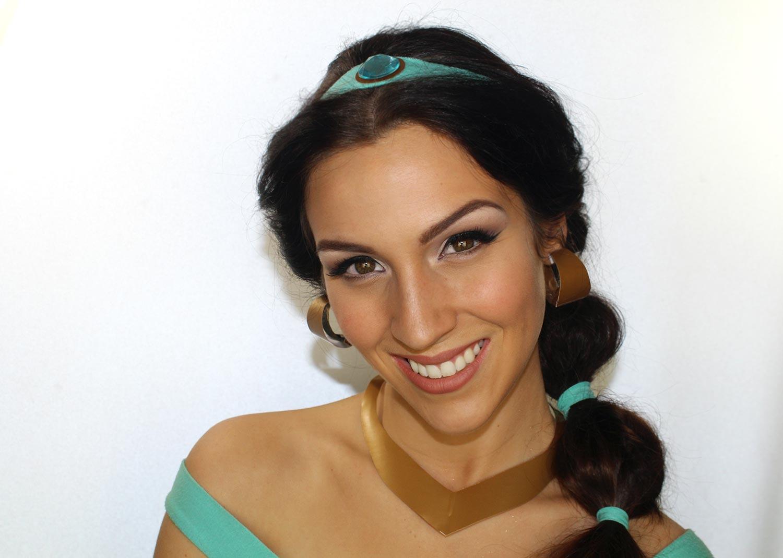 Maquillage d\u0027Halloween Princesse Jasmine (Aladdin)